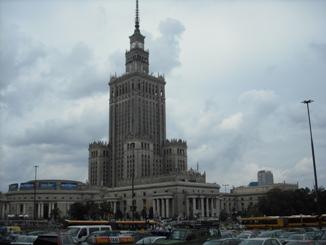 ワルシャワに出稼ぎにやってきました